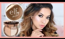 MY COLLAB IS HERE! e.l.f. x Heart Defensor Coffee 'N Cream Highlighter Duo