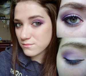 Subtle Smokey Purple Makeup