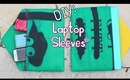✂DIY {Back To School}:Laptop Sleeves From Fabric Shopping Bags