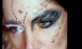 Avant Garde Make up: Sequinea the glitter Queen