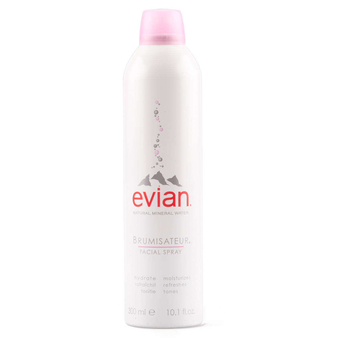 Evian Mineral Water Facial Spray 10 oz. product smear.