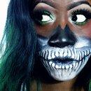 Glam Skull Makeup