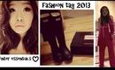 Fashion Tag/Winter Fashion Essentials ♥