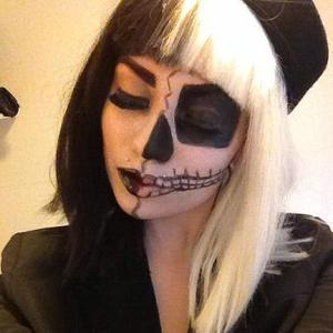 My Take on the Skeleton look. xo