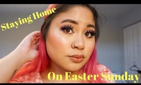 GRWM to Go Nowhere on Easter | Victoria Briana
