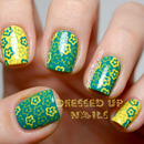 Baby's first stamping nail art