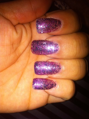 Nails for New Years 2012 : )