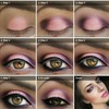 cute pink dark eye