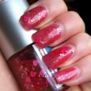 I've Just Met You and I Love You Pink Glitter Jelly Nail Polish