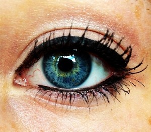 My friend Molly's eye