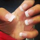 French Manicure Is The Best Natural Look.