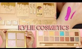 KYLIE COSMETICS NEW SUMMER COLLECTION: Vacation Edition! | REVIEW, TUTORIAL, SWATCHES