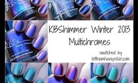 Polish in Action! KBShimmer Winter 2013 Multichromes