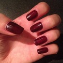Ibd plum raven gel nails