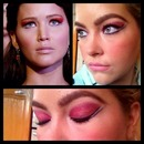 Catching Fire: Katniss Inspire Red Eye Look