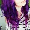 Scene Hairstyle- purple