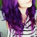 Scene Hairstyle- purple