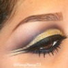 Arabic Gold Cut Crease