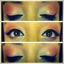 Coral & Pearl eyes.