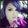 Purple And Pink Hair <3