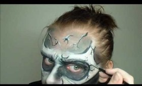 Animated/ Cartoon - Zombie/ Demon/ Skull Makeup