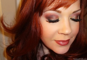 For more info on products used, please visit: http://www.vanityandvodka.com/2013/06/shimmering-metallics.html xoxo! Colleen