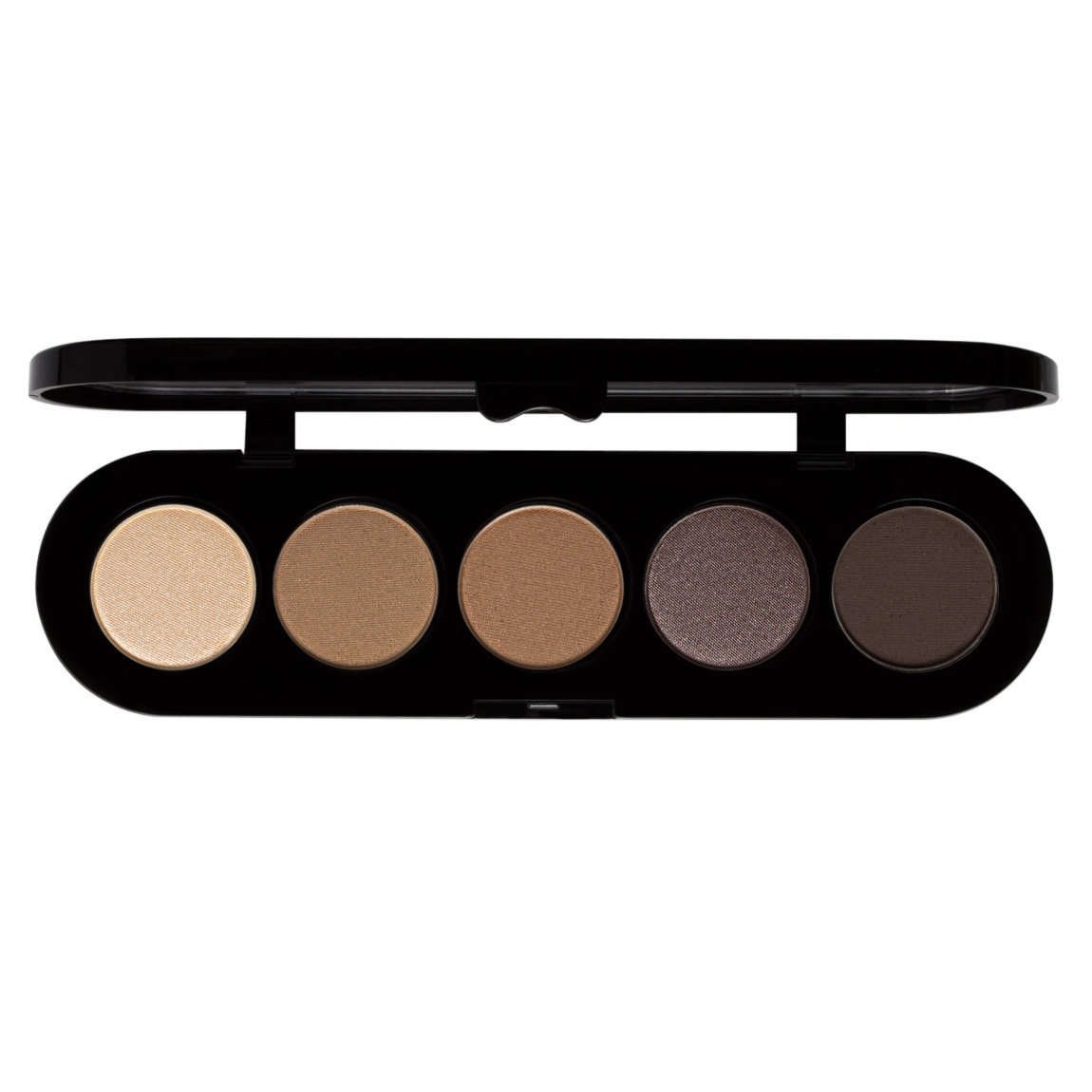 Make-Up Atelier Palette Eye Shadows T26 Smokey Brown product smear.