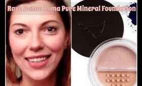 RAVE Demo: Alima Pure Mineral Foundation