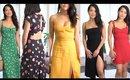 SPRING SUMMER 2019 SUMMER DRESS HAUL | ANN LE