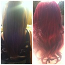 Hair I did today