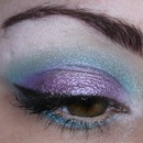 Shimmery Lilac & Blue