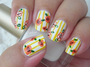 Collection 2000 - White French Migi Nail Art Pen - Orange Migi Nail Art Pen - Green Kiss - Yellow
