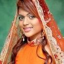 orange indian traditional