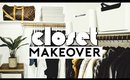 CLOSET ORGANIZATION + MAKEOVER! EXTREME CLEAN WITH ME | Nastazsa