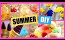 Summer DIYs!  DIY Ice Cream, Popsicle, Perfume Spray, Yogurt Melts, Infused Water!