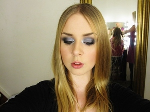 Cool Smokey Eyes for New Years Eve!  Like me on Facebook! http://www.facebook.com/pages/Makeup-Is-Art/455624517797347