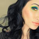 Blue/Green Smokey Eye