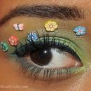 Floral Eye Makeup