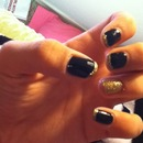 black and gold!