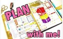 Plan with me #7 / Decorating my Erin Condren Life Planner Kikki