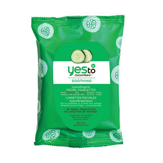 Yes To Cucumbers On-The-Go Facial Towelettes