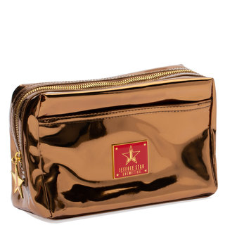 Makeup Bag Reflective Copper