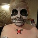 Skull... My 1st make up