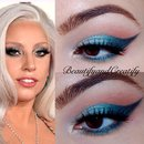 Inspired by Lady Gaga's Grammy's makeup