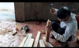 Cách hoàn thành một cái ghế bằng gỗ
