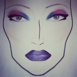 First facechart I ever made :)