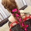 Stitching Ribbon in the Braid