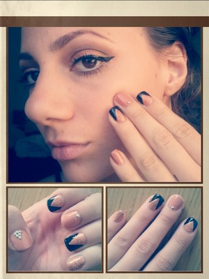 matching nails and eyes