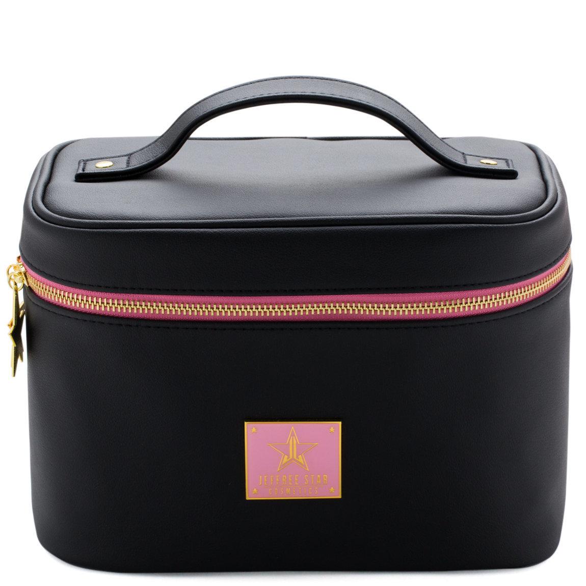 Jeffree Star Cosmetics Travel Makeup Bag Black product smear.