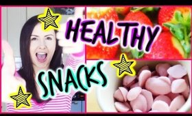 ♥ Yummy Healthy Snack Ideas ♥